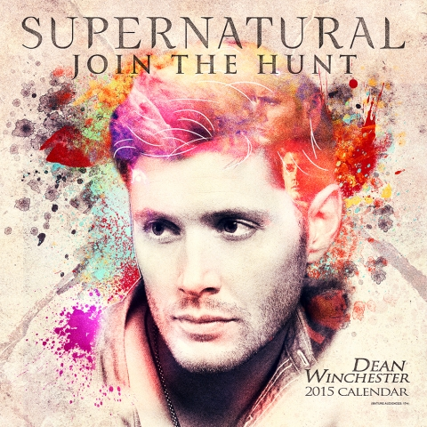 Supernatural-2015-Dean Winchester Calendar Designed at Creation Entertainment