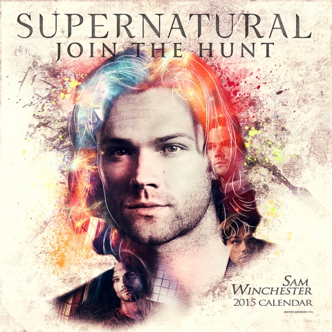 Supernatural-2015-Sam Winchester Calendar Designed at Creation Entertainment