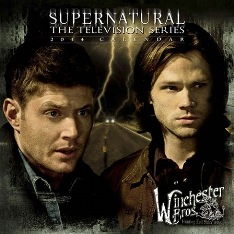 Supernatural Winchester Bros. Calendar Designed at Creation Entertainment