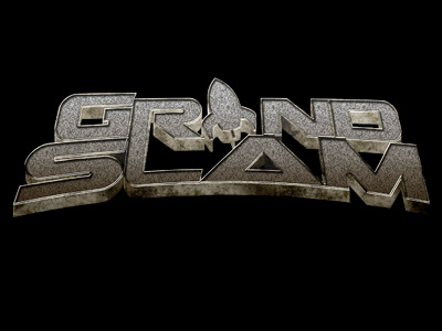 Grand Slam 3D Logo Designed at Creation Entertainment