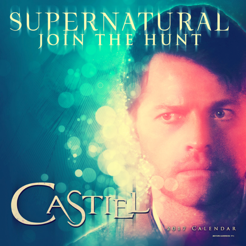 Official Supernatural Castiel- 2017 Calendar at Creation Entertainment