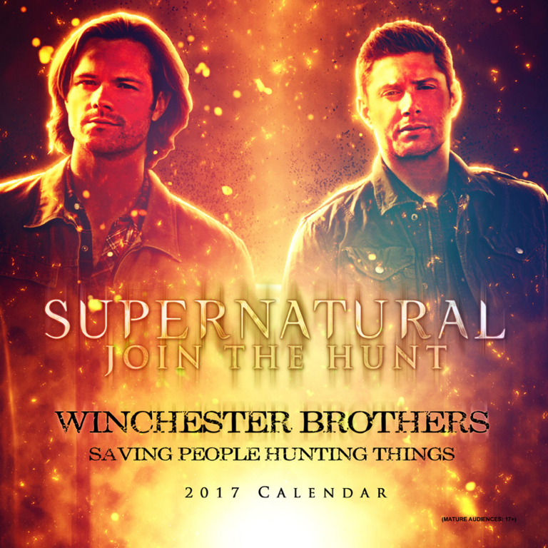 Official Supernatural Winchester Brothers- 2017 Calendar at Creation Entertainment
