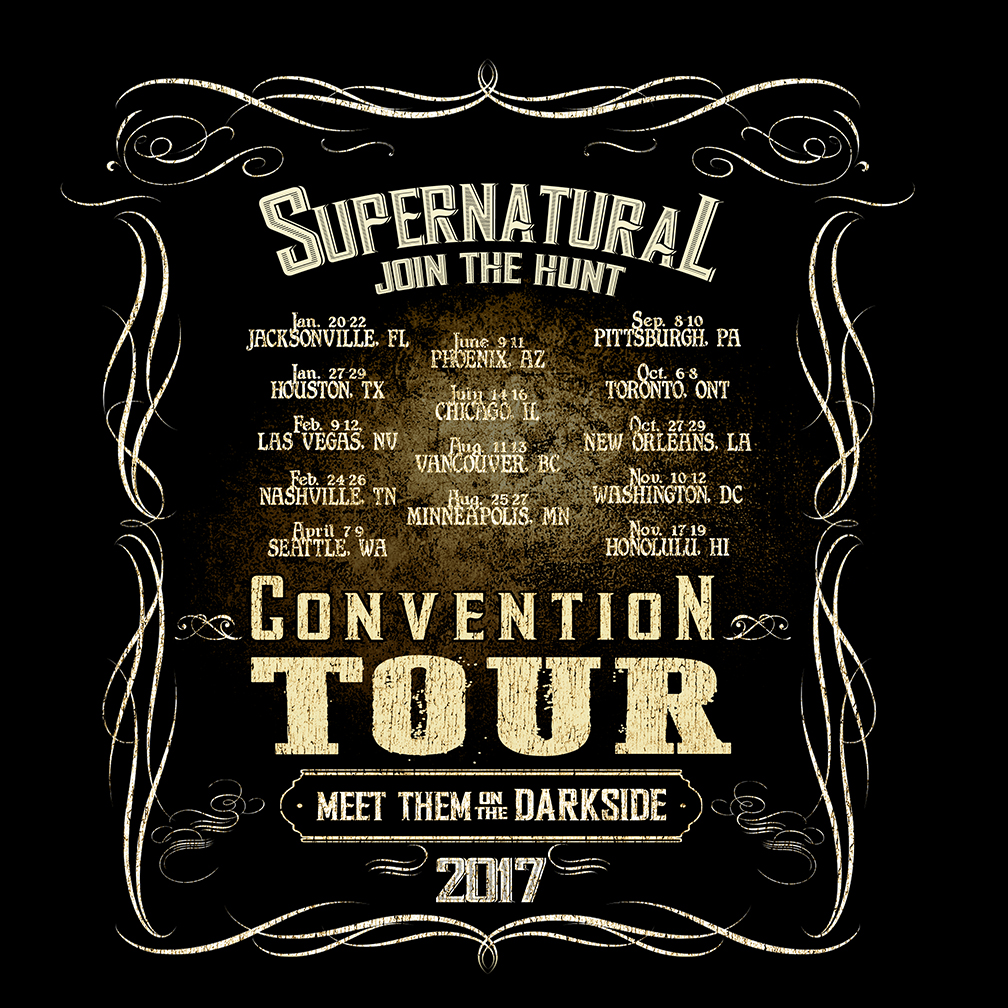 Official Supernatural T-shirt Design