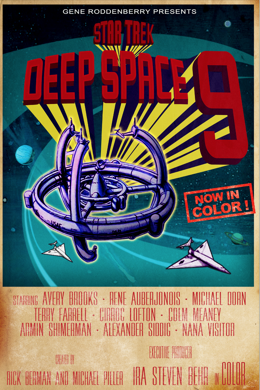 Star Trek Deep Space 9 Poster art