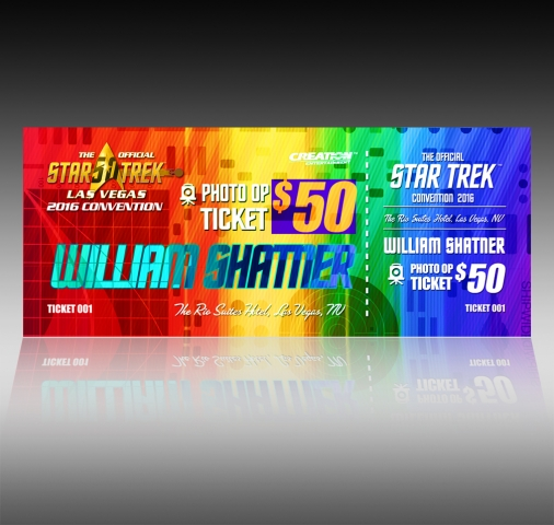 Official-StarTrek-LasVegas-photoOp-ticket-designed at Creation Entertainment