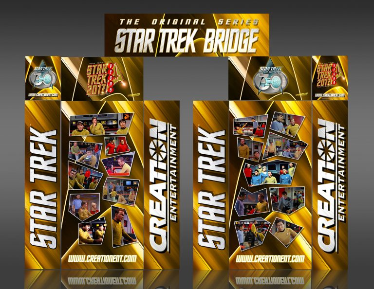 Star Trek TOS Theater Entrance Unit Convention Display Designed at Creation Entertainment