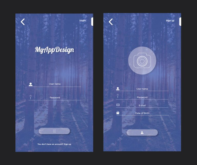 MyApp Mockup:Self Promotion