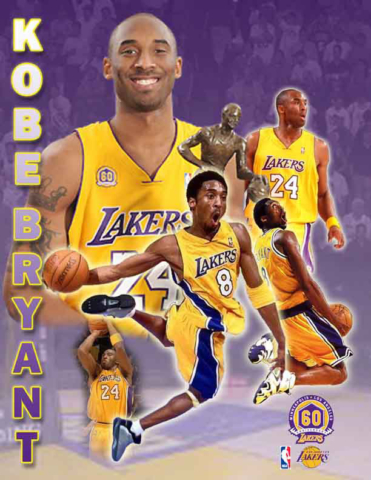 Kobe Bryant /  Poster Fan art Self Promotion