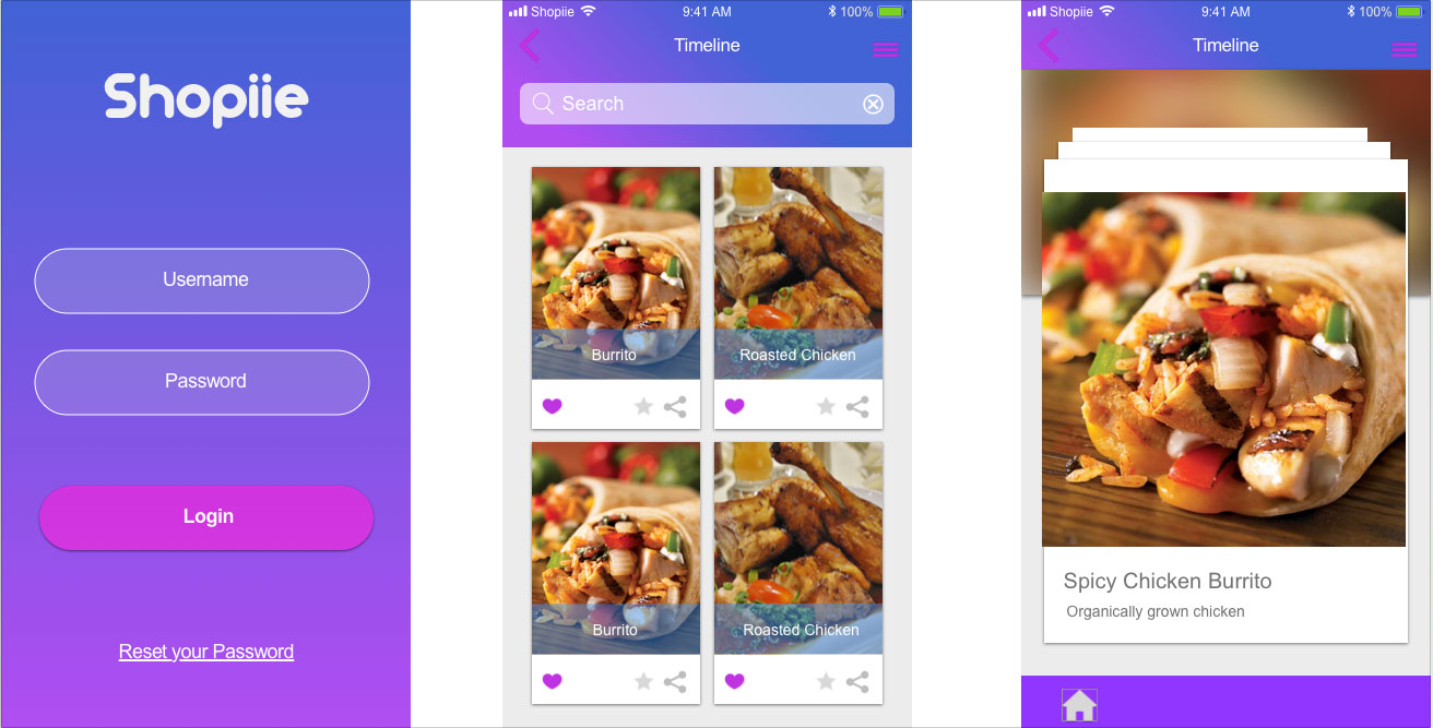 FoodMe Single Created in Sketch WakeUp MockUp : Self promotion