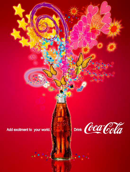 Coca Cola Ad Self Promotion